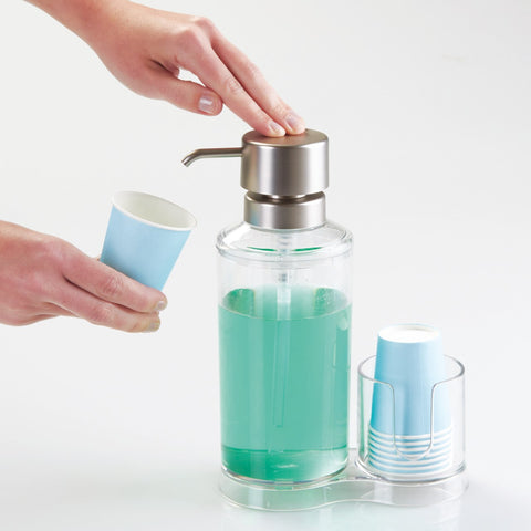 Clarity Mouthwash Caddy