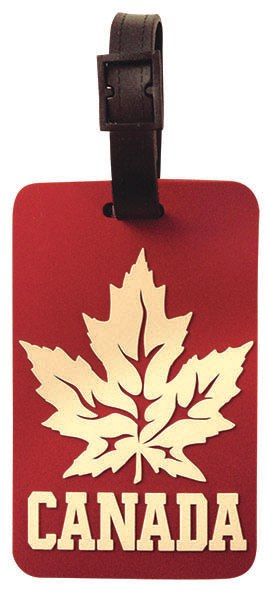 Luggage Tag Maple Leaf