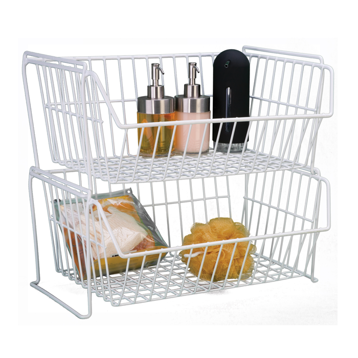 Large Stacking Grid Basket