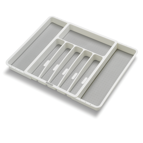 Expandable Grip Cutlery Tray