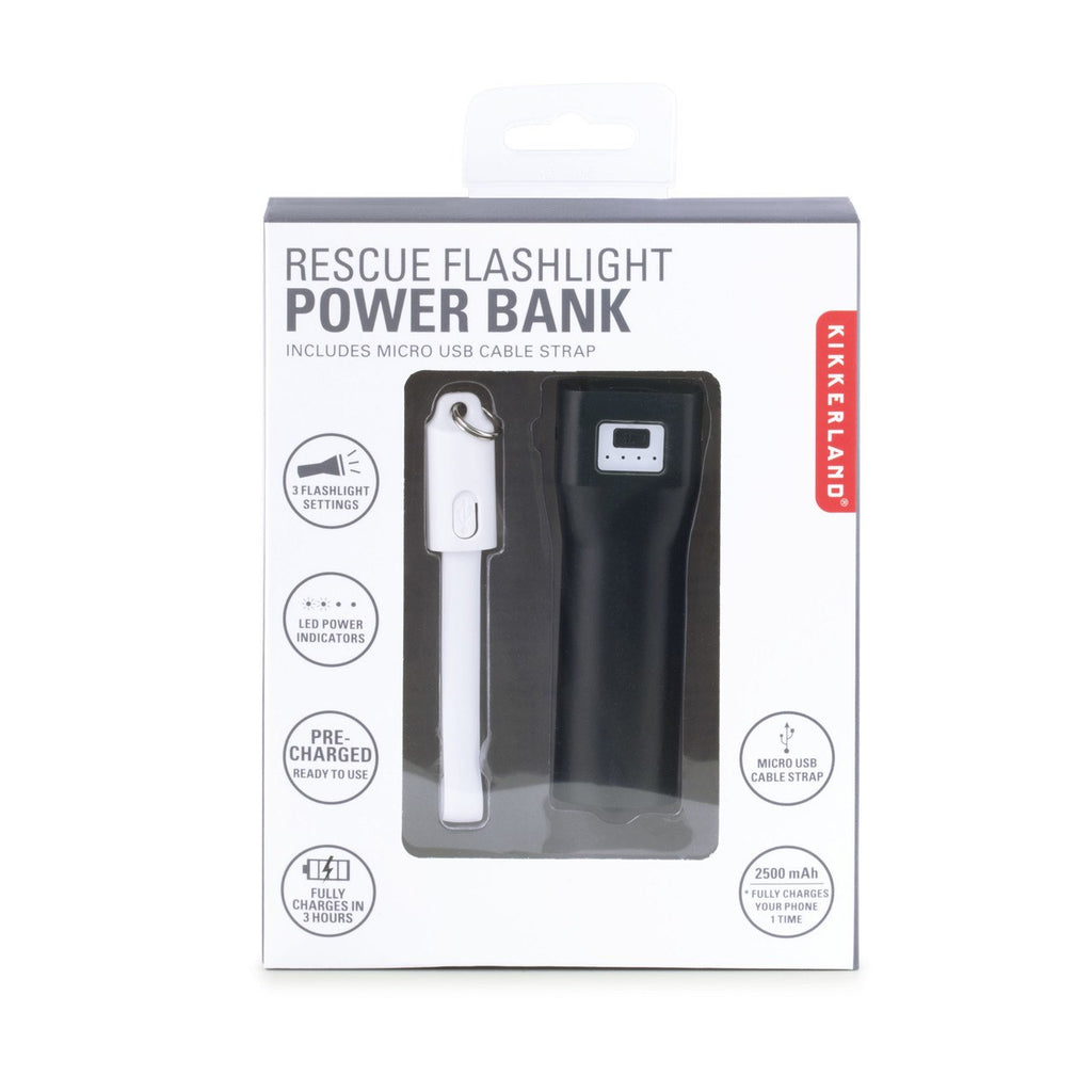Rescue Flashlight Powerbank