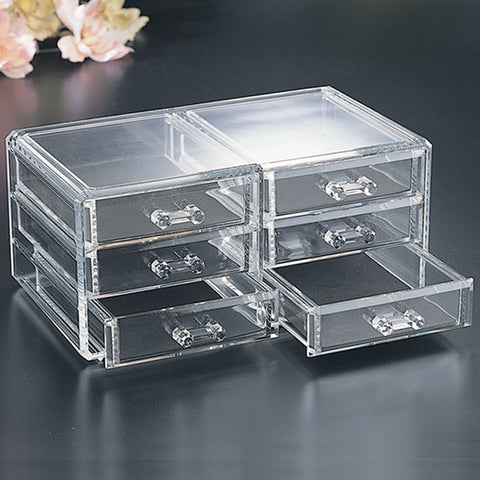 Jewelry Box With Six Drawers