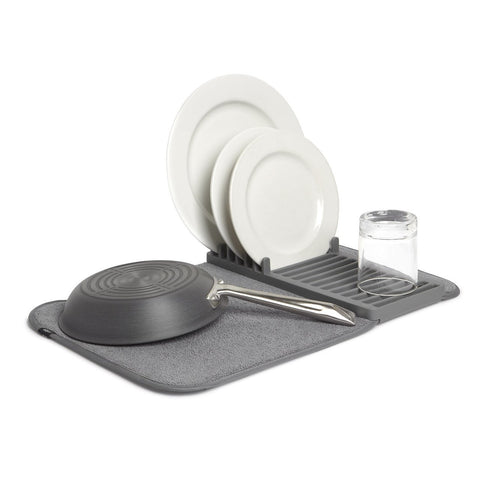 Umbra® Udry Mini Dish Rack & Drying Mat
