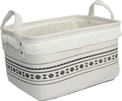 Canvas Storage Basket (Medium)
