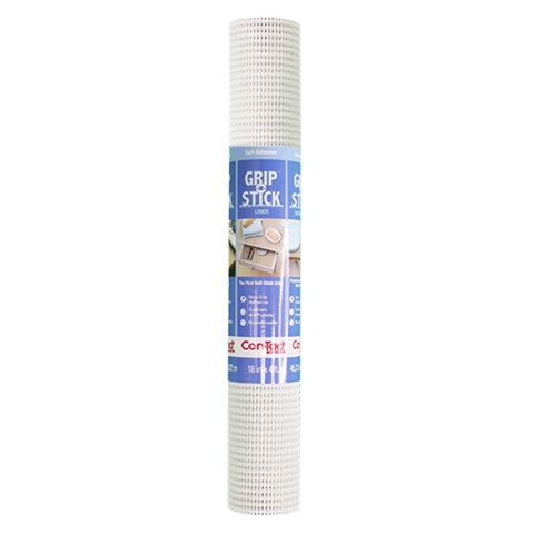 Grip 'n' Stick Drawer Liner White