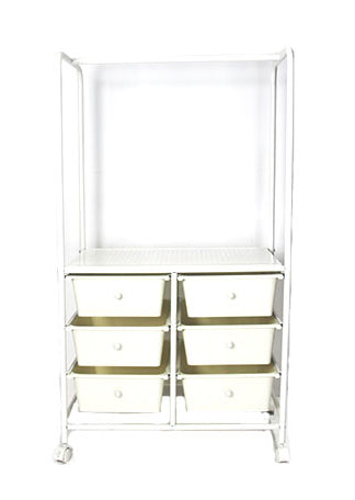 Trolley - Six Drawer