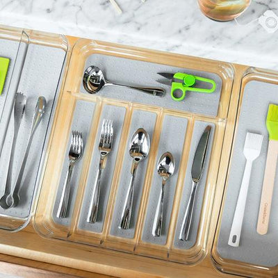 Silverware Tray - 6 Compartment