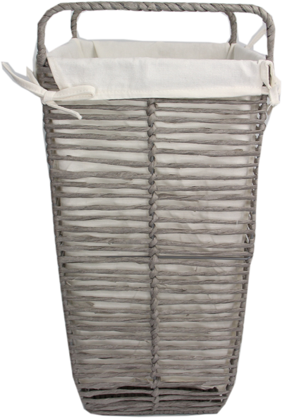 Paper Rope Basket With Liner Small