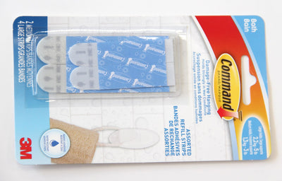 Command Water Resistant Refill Strips