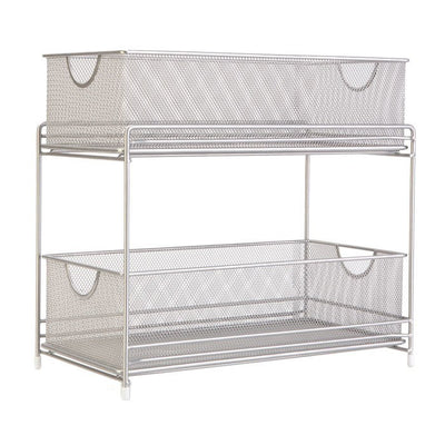 Two Tier Mesh Pull Out Organizer