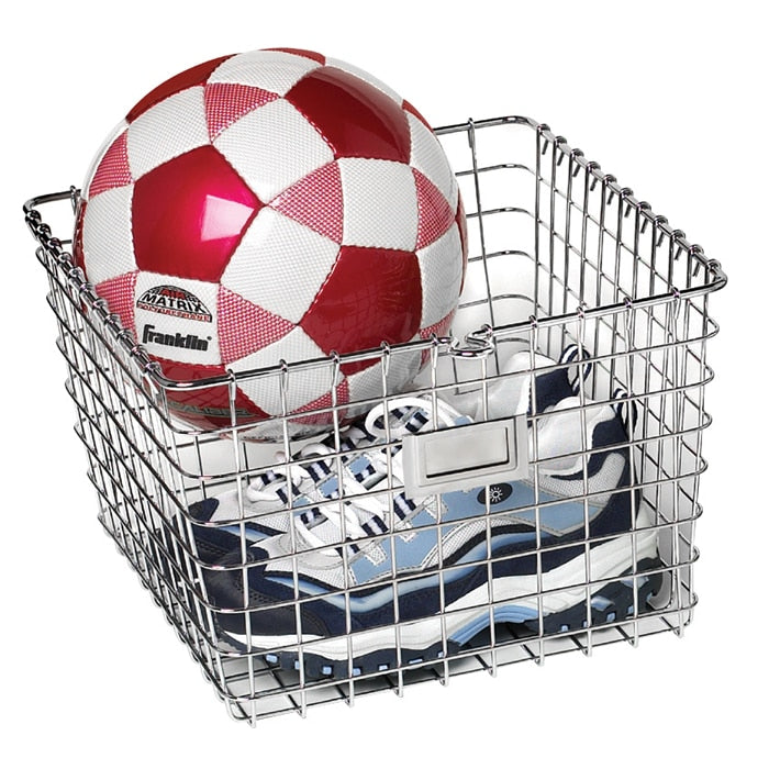 Medium Locker Basket - Chrome