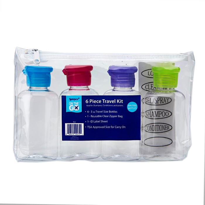 Travel Kit-4- 3oz Bottle
