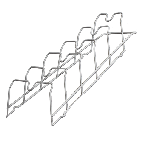 Cabinet Door Lid Rack In White