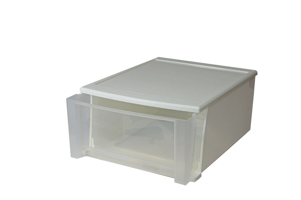 Stacking White Drawers - Large