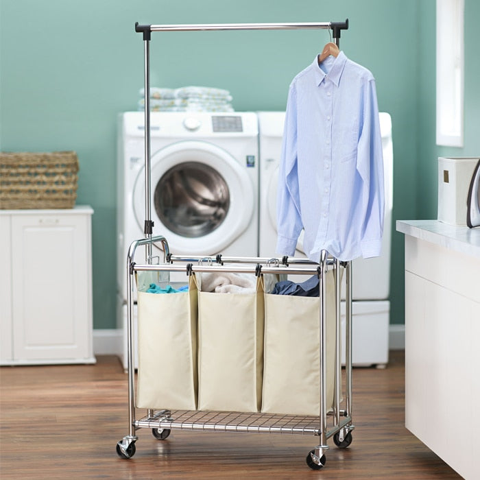 Triple Bag Laundry Center