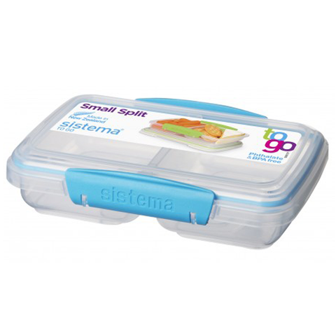 Klip-It Small Split Lunch Box