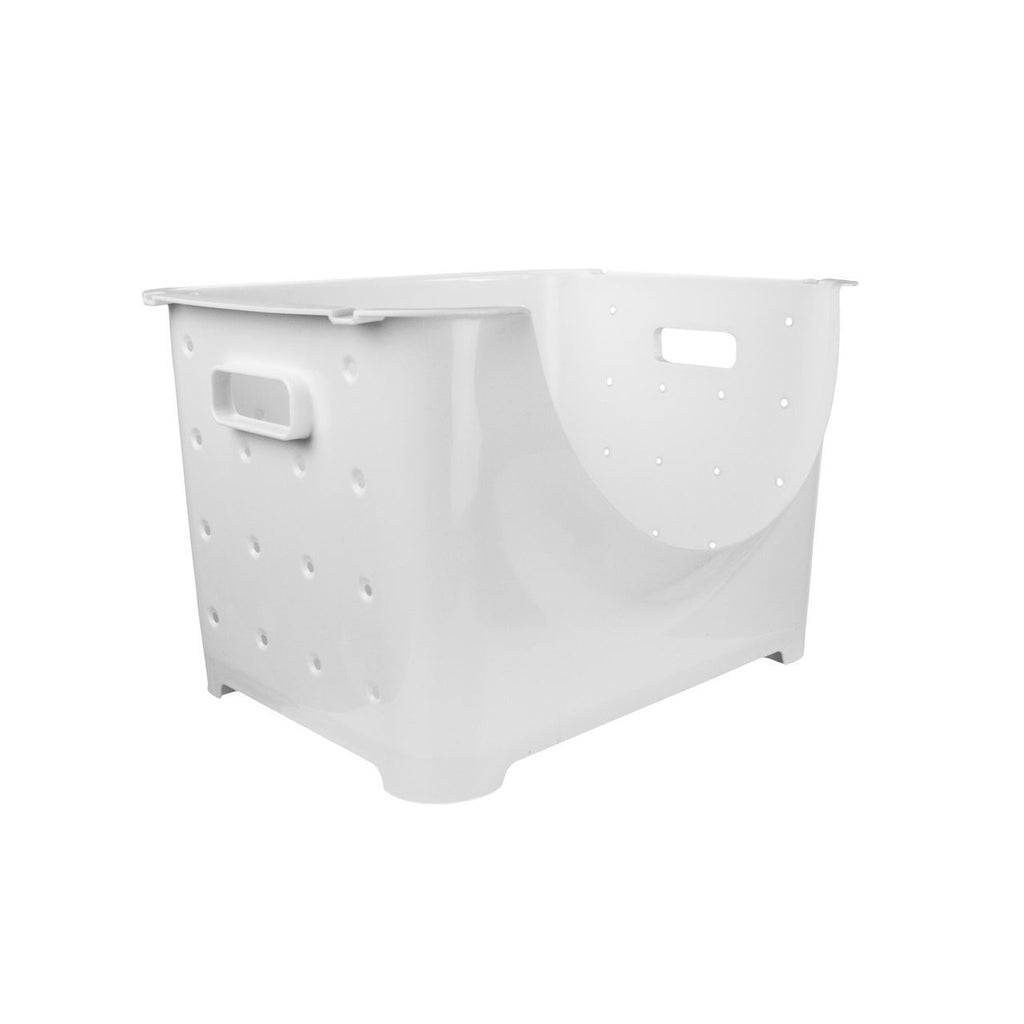 Plastic Storage Box With Cutout
