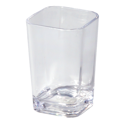 Optiks Acrylc Sq Tumbler-Cl