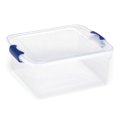 Clear Latching Storage Tote