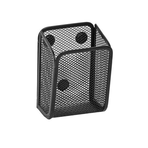 Magnetic Pencil Cup Black Mesh
