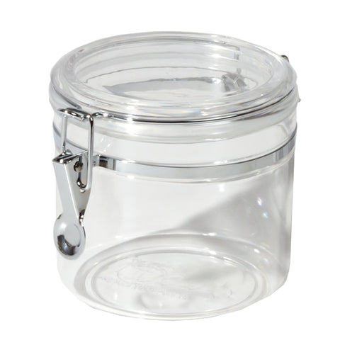 Acrylic Clamp Top Canisters