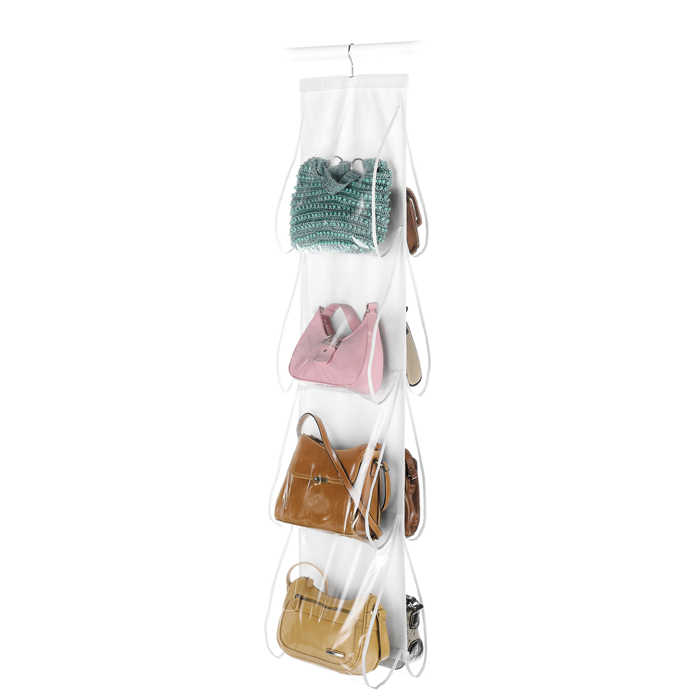 Frosted Hanging Accesory Organizer