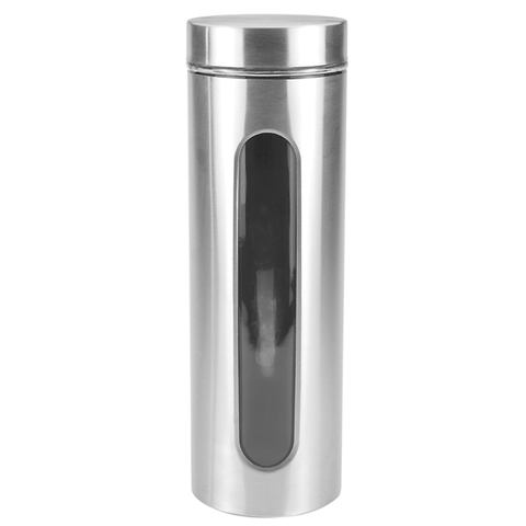 Chrome Window Canisters