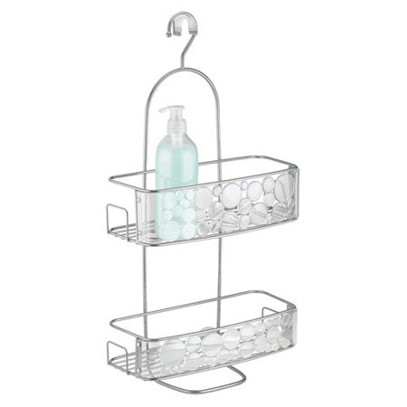 Bubbli Shower Caddy Silver