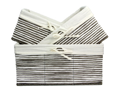Paper Rope Storage (3 Piece Set)