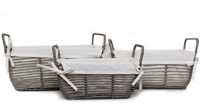 Paper Rope Storage (3 Piece Set- Rectangular)