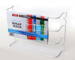 Door/Wall Wrap Rack - White