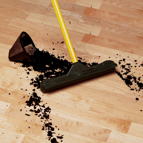 Indoor Rubber Broom
