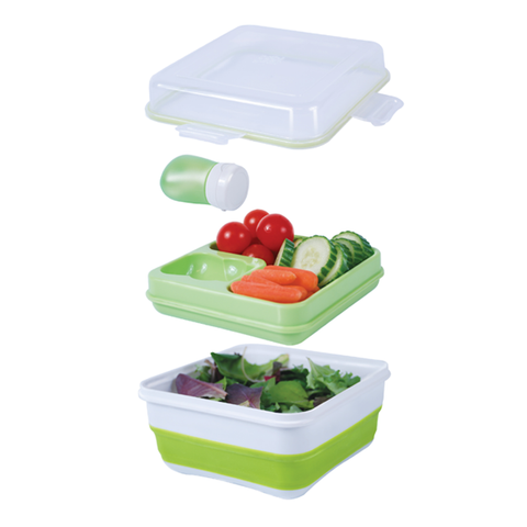 Collapsible Salad To Go