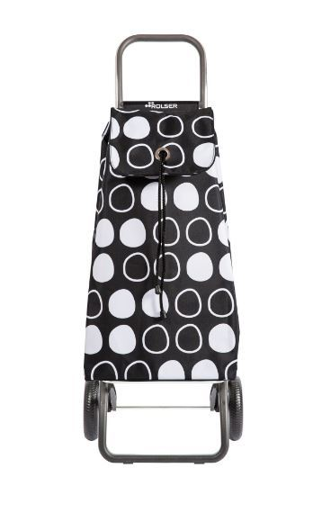 Shopping Trolley Rolser Black 2 Wheels
