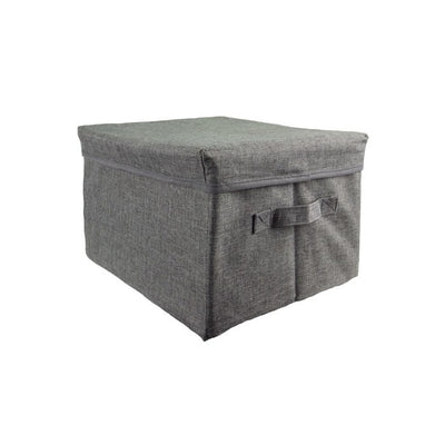 Premium 5 Pc Organized Closet Starter Kit In Flint Grey