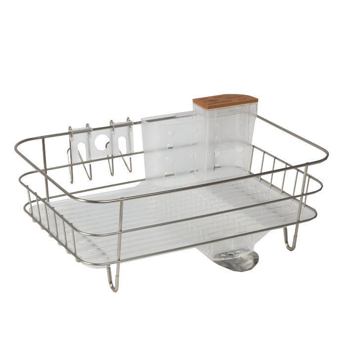 Wire Frame Slim Dish Rack