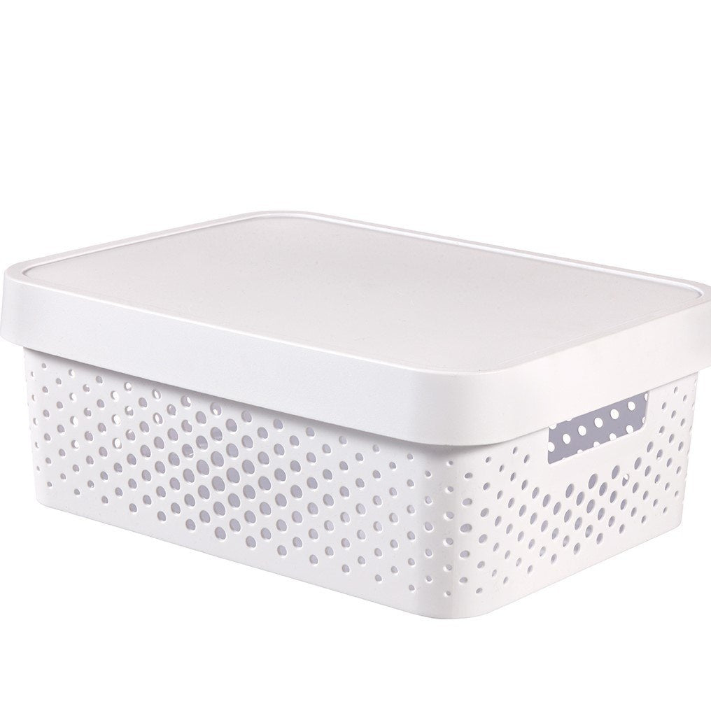 Infinity 11L Box White Dot