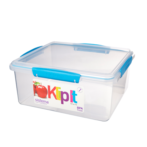 Klip-It Rectangular Food Store 5L