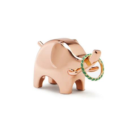 Anigram Copper Ring Holder
