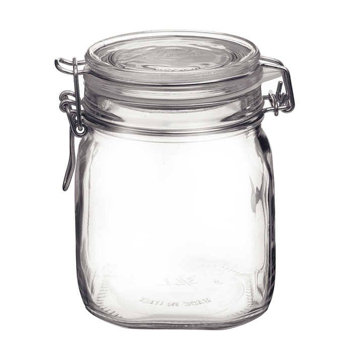 0.75L Fido Jar With Clamp