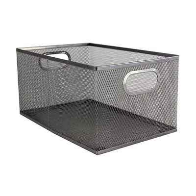 Silver- Multi Storage Box