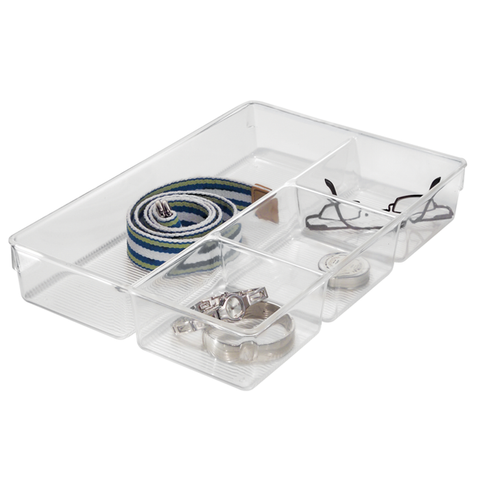 Linus Divided Dresser Drawer Organizers