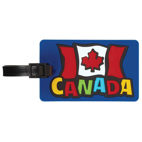 Funky Flag Luggage Tag
