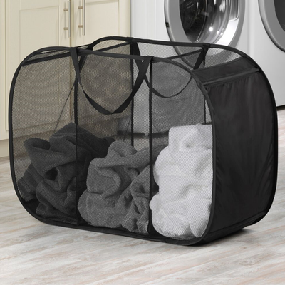 Pop 'n' Fold Triple Laundry Sorter