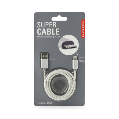 Super Cable-Micro & Lightening
