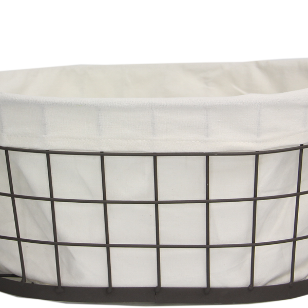 Wire Basket With Liner XL