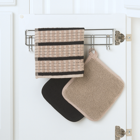 Tiered Over Cabinet Towel Rack