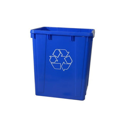 Recycle Tall Box 19x16x21H BL