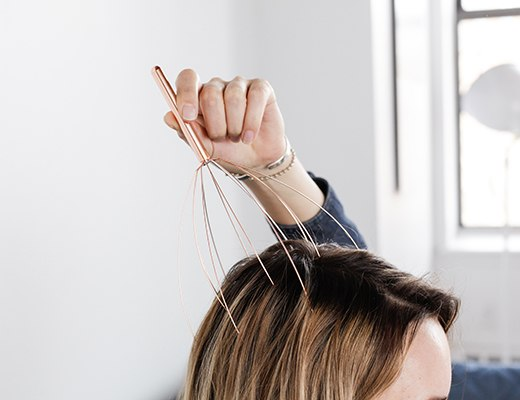 Head Massager Copper