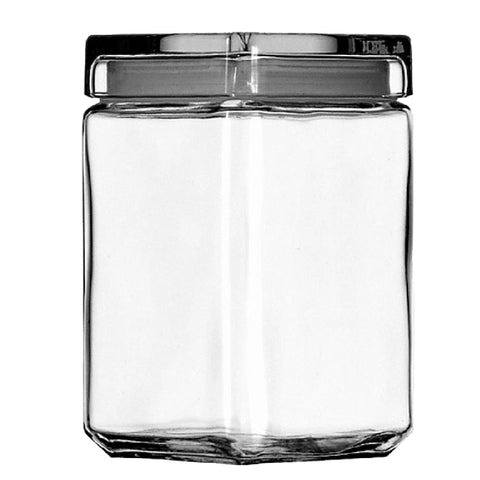 Glass Square Canisters